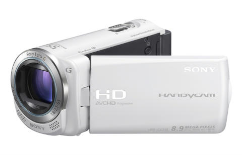 Handycam HDR-CX250E_von Sony_Weiss_05