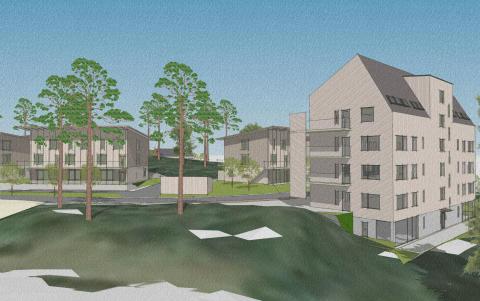 Markanvisningen klar för första utbyggnadsetappen av Södra Källtorp