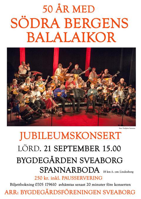 Spannaboda: Södra Bergens Balalaikor