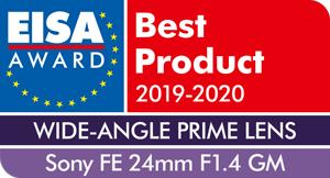 EISA-Award-Sony-FE-24mm-F1