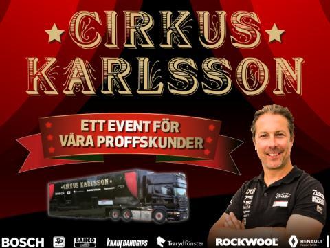 Cirkus Karlsson sprider kunskap för bättre byggande våren 2015