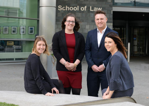 Law school recognised for voluntary legal work