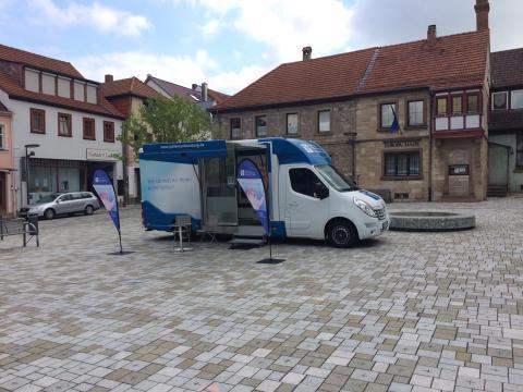 Beratungsmobil der Unabhängigen Patientenberatung kommt am 20. August nach Hammelburg.