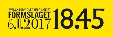 De är årets Formbärare 2017