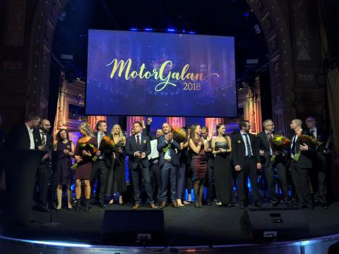 Här är vinnarna på Motorgalan 2018