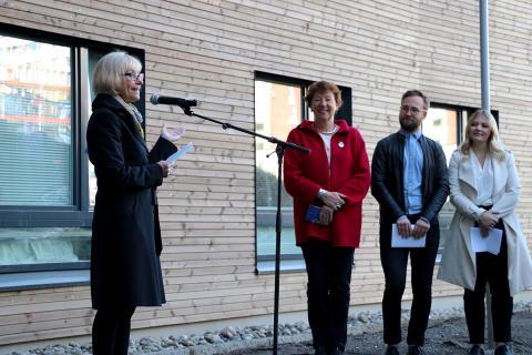 Offisiell åpning Kringsjå Studentby 26.04.2018