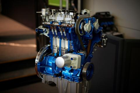 Fords 1,0-liters EcoBoost-motor vinner International Engine of the Year – för femte året i rad