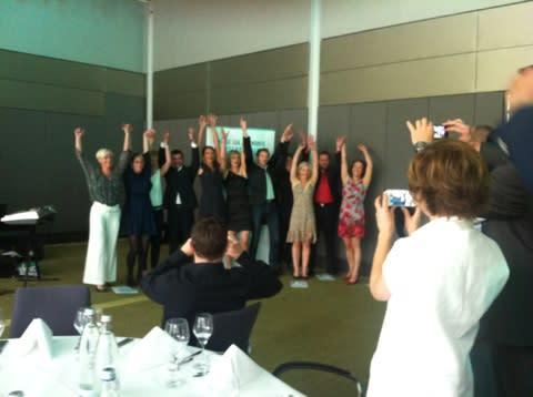 VOD gratuliert fertig ausgebildeten Osteopathen