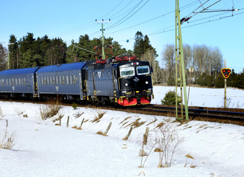 SJ InterCity vinter