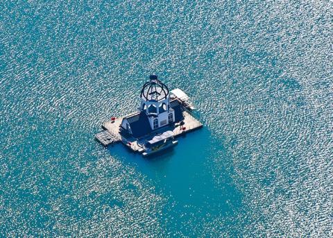 VINETA auf dem Störmthaler See