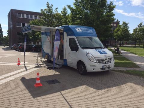 Beratungsmobil der Unabhängigen Patientenberatung kommt am 8. Februar nach Waren (Müritz).