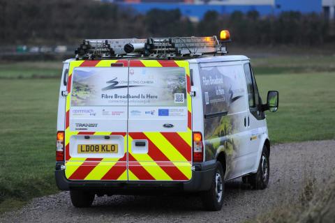 Connecting Cumbria van