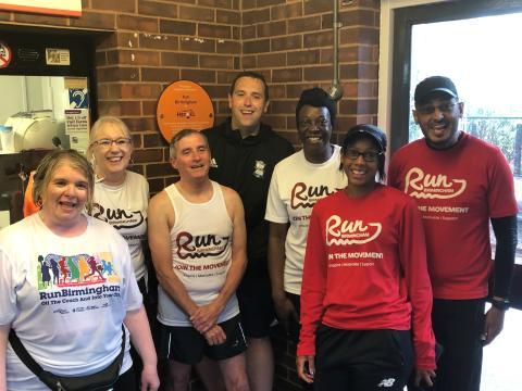 Birmingham runners mark Cross City Heroes win