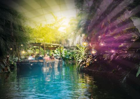 Neues Highlight im Zoo Leipzig: Magisches Tropenleuchten im Gondwanaland