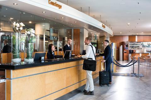 Freundlicher Empfang im Martitim Hotel Frankfurt