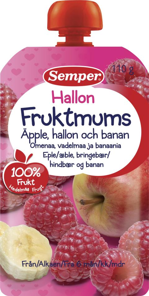 Fruktmums Hallon