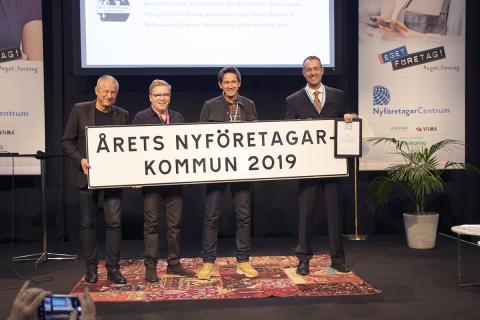 Åtta tävlar om titeln Årets nyföretagarkommun 2020