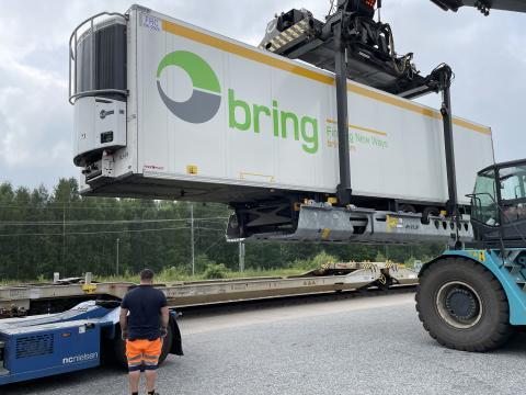 Ny lastbärare öppnar för större volymer av trailers