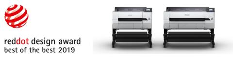 "Epson Printers Win Their First ""Red Dot: Best of the Best"" Award"