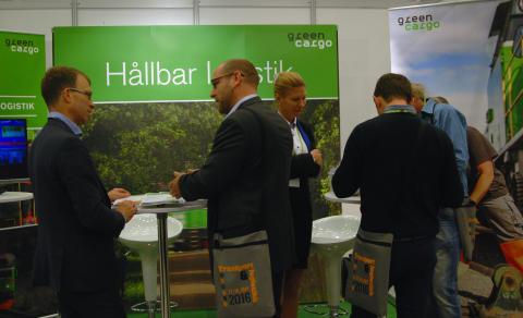 Green Cargo på plats på Norges största logistikmässa