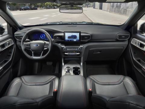 Ford Explorer ladbar hybrid 2019