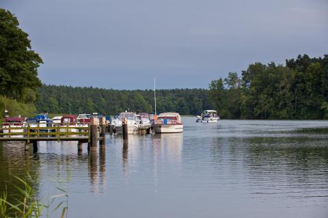 Hausboottour im Ruppiner Seenland