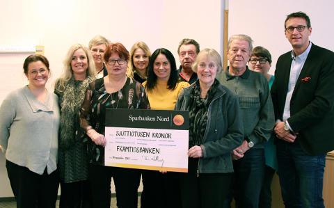 Sparbanken Nord - Framtidsbanken delade med sig under Sparbanksdagen