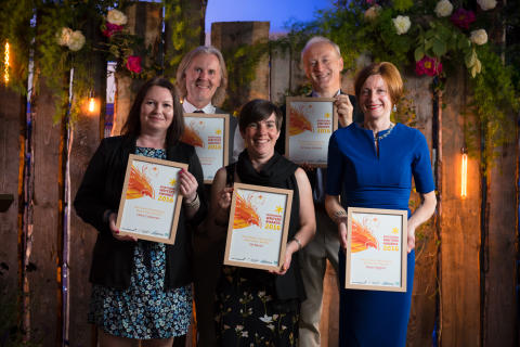 New Fiction Bursaries winners 2016