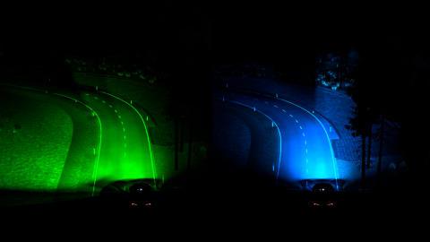 Nové světlomety Fordu umožní řidičům dohlédnout dál do zatáčky