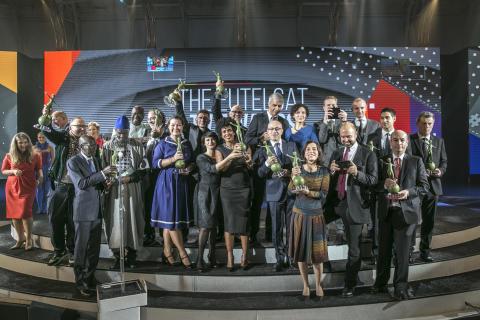 Eutelsat Tv Awards 2016: edizione da sogno