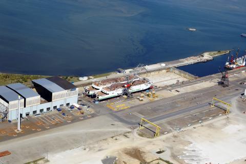 Luftfoto fra FAYARD