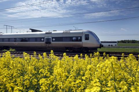 Det våras för tågresandet i påsk
