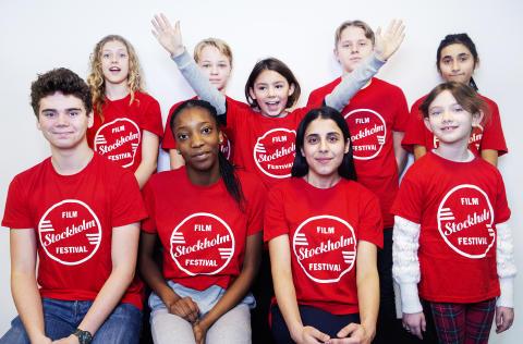 Närmare 200 barn ville sitta i juryn för Stockholms filmfestival Junior