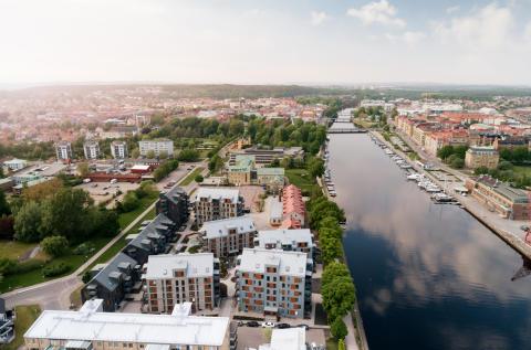 Kvarteret Borgen vinner Halmstads arkitekturpris