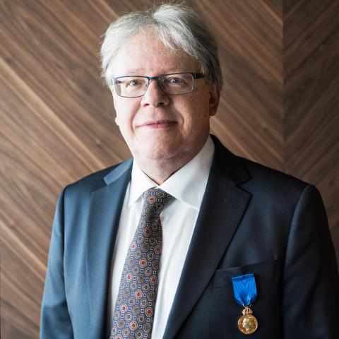 Rolf Martinsson tilldelas Litteris et artibus/Rolf Martinsson Awarded