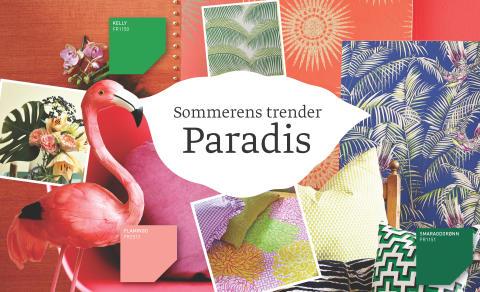 Fargerike, Sommerens Trender - Paradis