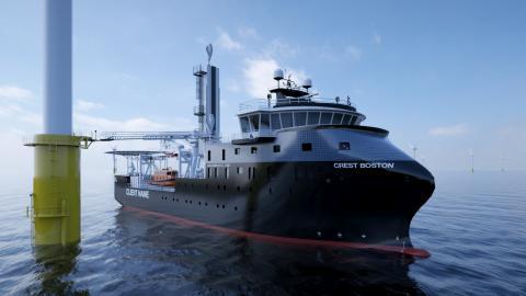 Crowley og ESVAGT indgår joint venture for at forøge skibs- og service-kapaciteten i USA's offshore vindindustri