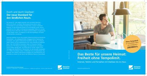 Deutsche Glasfaser stellt sich vor