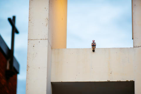 Isaac Cordal for UPEA18