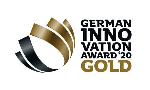 The Calligraphy Cut mit dem German Innovation Award in Gold ausgezeichnet