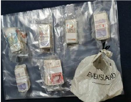 Man arrested and drugs, cash and stun gun recovered following warrant in Norris Green