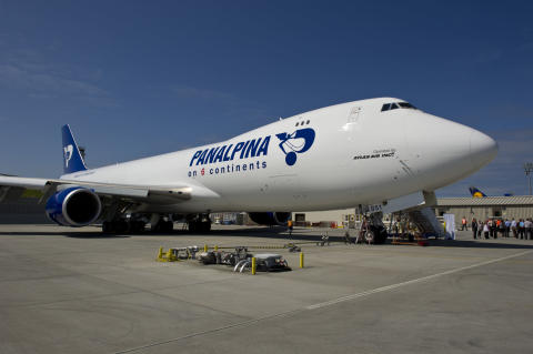 Panalpina Boeing 747-8F in Seattle