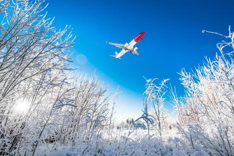 COVID-19 påvirker Norwegians trafikktall kraftig i desember