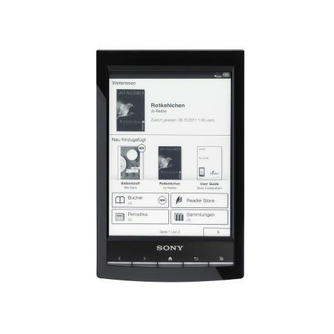 Reader Wi-Fi PRS-T1 von Sony_Schwarz_01
