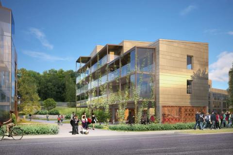 Erlandsson Bygg bygger 158 student- och ungdomsbostäder åt Stockholmshem