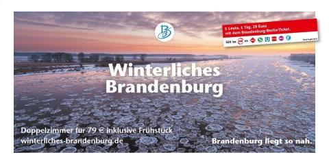 Winterliches Brandenburg & MERIAN