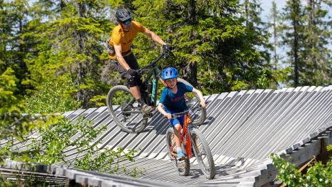 Sommerrekord i Trysil – 20 prosent økning for sykkeldestinasjonen