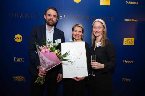 Haymarket by Scandic named Sweden's best hotel  – wins Grand Travel Award 2020