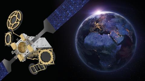 Eutelsat commande le satellite EUTELSAT 10B pour des services de connectivité à destination des secteurs aérien et maritime