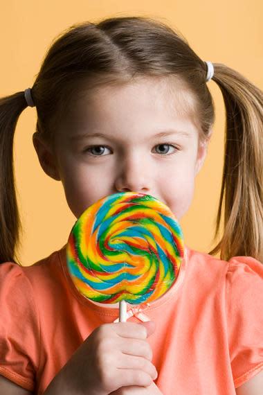 Gift für Kinder und Zähne
